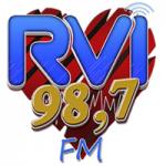 Logo da emissora Rádio RVI 98.7 FM