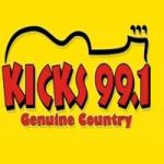 Logo da emissora KHKX 99.1 FM