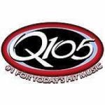 Logo da emissora Radio WQGN 105.5 FM