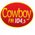 Logo da emissora Rádio Cowboy 104.5 FM