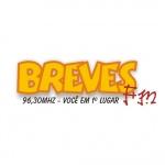 Logo da emissora Rádio Breves 96.3 FM