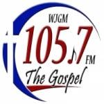 Logo da emissora Radio WJGM 105.7 FM
