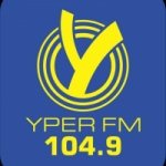 Logo da emissora Radio Yper FM 104.9