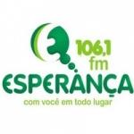 Logo da emissora Rádio Esperança 106.1 FM