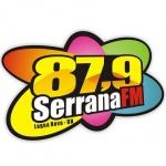 Logo da emissora Rádio Serrana 87.9 FM