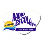 Logo da emissora Rádio Escola FM