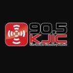 Logo da emissora KJIC 90.5 FM