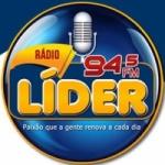 Logo da emissora Rádio Líder 94.5 FM