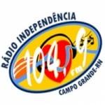 Logo da emissora Rádio Independência 104.9 FM