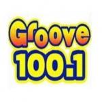 Logo da emissora Radio WVVE 100.1 FM