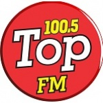 Logo da emissora Rádio Top 100.5 FM