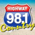 Logo da emissora Radio WHWY 98.1 FM
