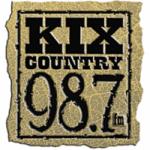 Logo da emissora Radio WAKX 98.7 FM