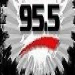 Logo da emissora Radio KJKB 95.5 FM