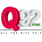 Logo da emissora Radio WMFQ 92.9 FM