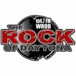 Logo da emissora Radio WROD 104.7 FM