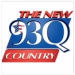 Logo da emissora Radio KKBQ 93 FM