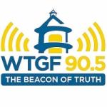Logo da emissora Radio WTGF 90.5 FM