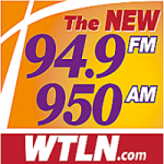 Logo da emissora Radio WTLN 94.9 FM