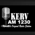Logo da emissora KERV 1230 AM
