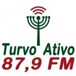 Logo da emissora Rádio Turvo Ativo 87.9 FM