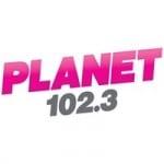 Logo da emissora KKPN Planet 102.3 FM