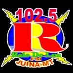Logo da emissora Rádio Raio de Luz 102.5 FM