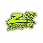 Logo da emissora KJBZ 92.7 FM Z93 Solamente