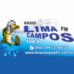 Logo da emissora Rádio Lima Campos 104.9 FM