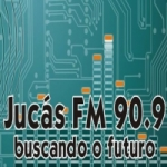 Logo da emissora Rádio Jucás 90.9 FM