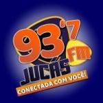 Logo da emissora Rádio Jucás 93.7 FM
