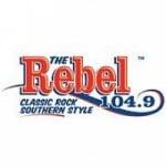 Logo da emissora Radio WRBF 104.9 FM