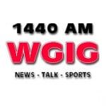 Logo da emissora WGIG 1440 AM