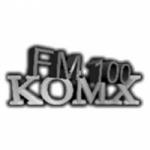 Logo da emissora KOMX 100.3 FM