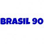 Logo da emissora Rádio Brasil 90
