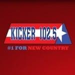 Logo da emissora KKYR 102.5 FM Kicker