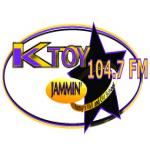 Logo da emissora KTOY 104.7 FM