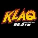 Logo da emissora KLAQ 95.5 FM