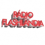 Logo da emissora Rádio Flashlândia