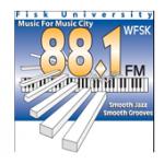 Logo da emissora WFSK 88.1 FM Fisk