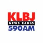 Logo da emissora KLBJ 590 AM