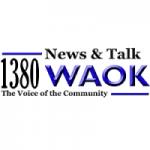 Logo da emissora Radio WAOK 1380 AM