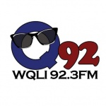Logo da emissora Radio WQLI 92.3 FM