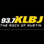 Logo da emissora KLBJ 93.7 FM