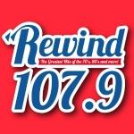 Logo da emissora WRWN 107.9 FM Rewind