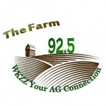 Logo da emissora WKZZ 92.5 FM The Farm