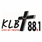 Logo da emissora KLBT 88.1 FM