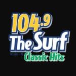 Logo da emissora WLHH 104.9 FM The Surf