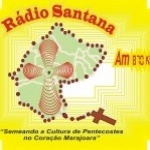 Logo da emissora Rádio Santana do Marajó 870 AM
