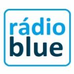 Logo da emissora Rádio Blue Brasil